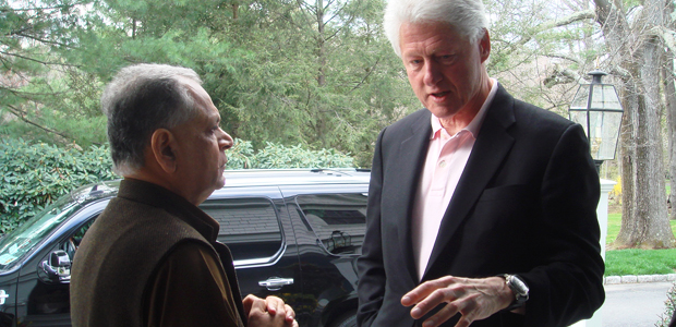 Ag meets former president clinton ag Bill clinton address chappaqua
