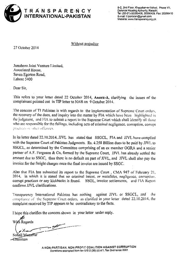 TIP letter to JJVL 27102014-1